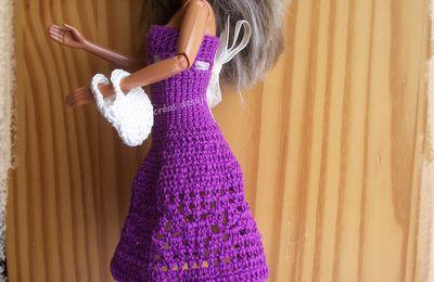 Une robe confortable pour Miss Barbie