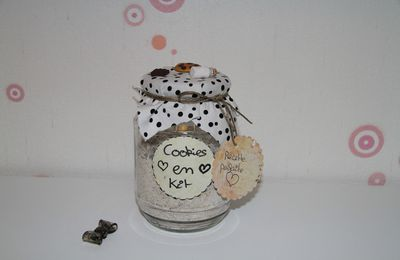 ♥ Le calendrier de l'avent ♥ / ♪ Jour 8 ♪ DIY : Cookies en kit ♥