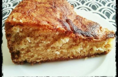 Cake façon belle maman (et donc à l'égyptienne)