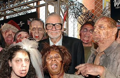 "George A. Romero, le ""Demon"" du film de zombies, est mort... La nuit des morts vivants, Zombie, Land of the dead"