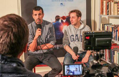 Mélodie en sur-sol interview exclusive de Rachid Hami et Samir Guesmi au @CinespaceBvs