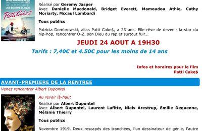 On vous donne rendez-vous au Cinespace de Beauvais approuvé par CINEMATIQUE SANS TOC 📻 RadioMercure