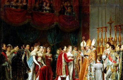 1ER  AVRIL 1810 ...UNION CIVILE DE NAPOLEON 1ER ET MARIE-LOUISE..