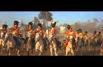 CHARGE DES SCOTS GREYS A WATERLOO ........