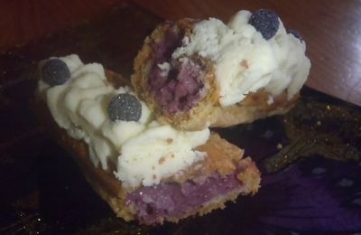 Eclairs cassis-violette