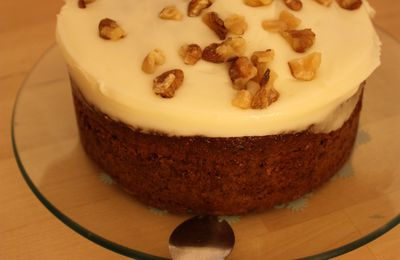 J'ai testé... Le Carrot & Walnut Cake de Mark & Spencer