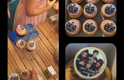 Cupcakes Big Time Rush