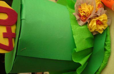 Atelier anniversaire : création chapeau 40 ans