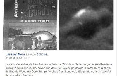 Lien direct NASA ma découverte Ovni en forme d'amphore sur Mercure