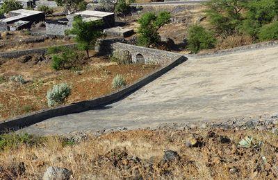 Un impluvium sur les hauts de l'île de Fogo