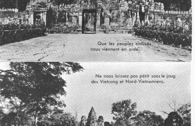 Phnom Penh 1970-75 : paysage postal