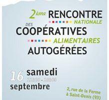 Rencontre nationale des coopératives alimentaires autogérées