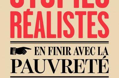 Utopies réalistes, Rutger Bregman, éditions du Seuil