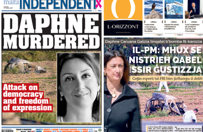 Malte : Daphne Caruana Galizia, célèbre blogueuse anticorruption, assassinée