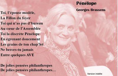 PENELOPE de Georges BRASSENS version inédite