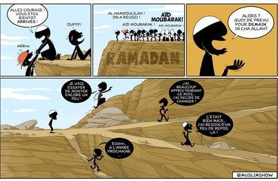Alors ? Quoi de prévu pour demain in cha Allah ? : )