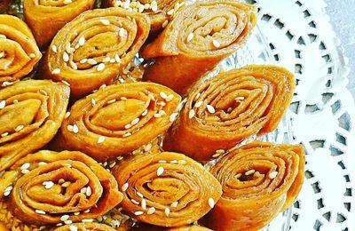 Gâteaux Langues d'oiseaux au miel