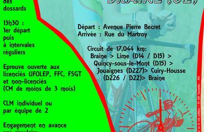 "Circulaire + bulletin d'engagement - ""Chrono Axonais"" - 09/10/16"