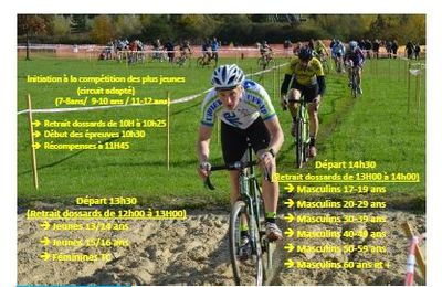 [CCX] Circulaire du Championnat Départemental Cyclo-cross de SEPTMONTS du 17/12/17
