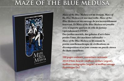 """Maze of the Blue Medusa"", bientôt en français."