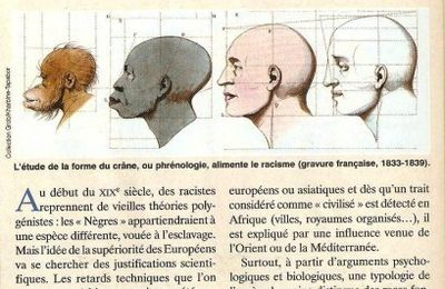 Le racisme du temps de la colonisation