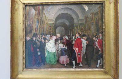 Les visiteurs du Louvre (1)