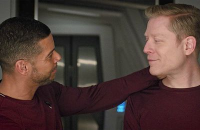 Premier bisou gay dans Star trek discovery