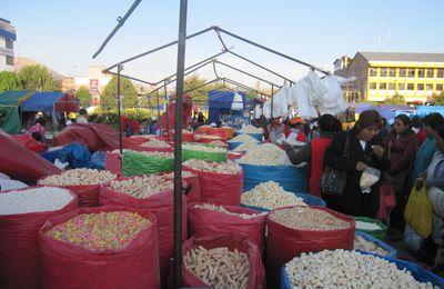 Cusco: Tienda del mercado