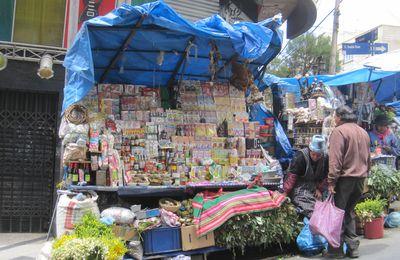 La Paz: Mercado de las brujas