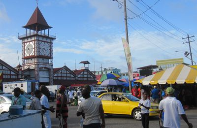 Georgetown: Colorful market