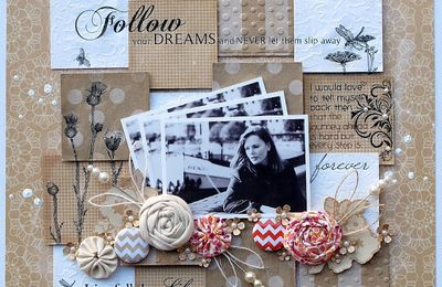 Atelier page scrapbooking
