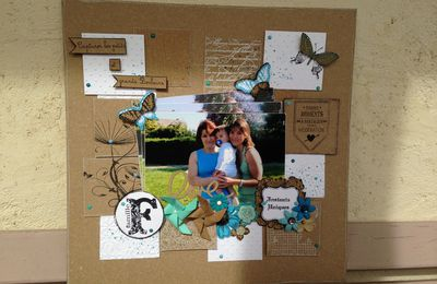 Page scrapbooking