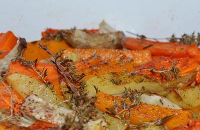 Légumes d'Hiver Rôtis