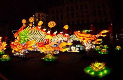 Lyon Fête des Lumières 2016: La carpe KOI