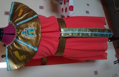 déguisement Cléopâtre pour une nièce