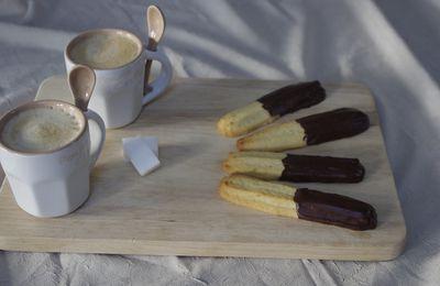 Spritz au chocolat
