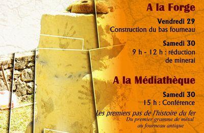 Journées métallurgie ancienne à Fontenilles