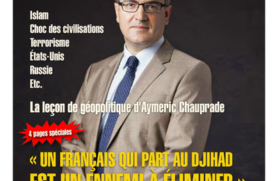 AYMERIC CHAUPRADE, LA DEGRINGOLADE !
