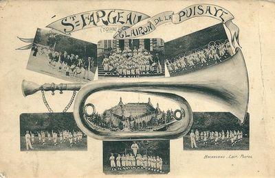 Saint-Fargeau - Yonne - Dépt 89.