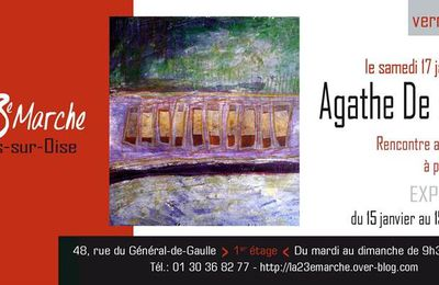 Vernissage d'Agathe de Philippi...