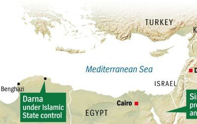 The 'Caliphate's' Colonies: Islamic State's Gradual Expansion into North Africa