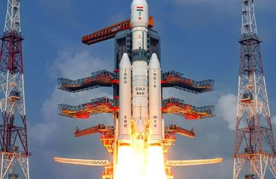 India Launches Its Largest Space Rocket