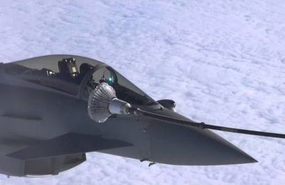 Typhoon FGR4 air to air refuel EX Red Flag