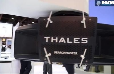 Thales SEARCHMASTER AESA surveillance radar at IDEX 2015