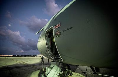 RAF Atlas Delivers First Operational Payload