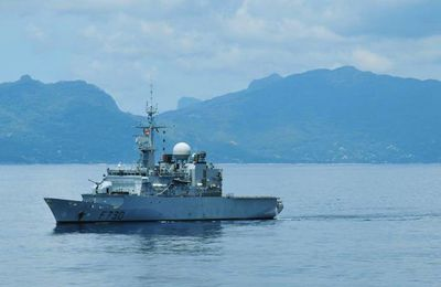 France patrolling the southern Indian Ocean