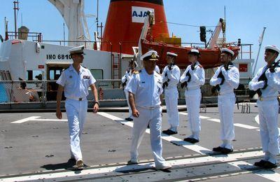 Coopération franco-chypriote à Limassol pour le Forbin