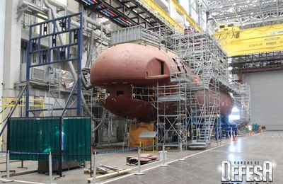 "Navy of Brazil Completes the First Phase of Construction of Conventional Submarine ""Riachuelo"""