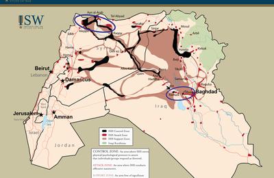 Sur la piste du fief de l'Etat islamique