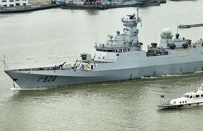 First Chinese corvette for Algeria heads home